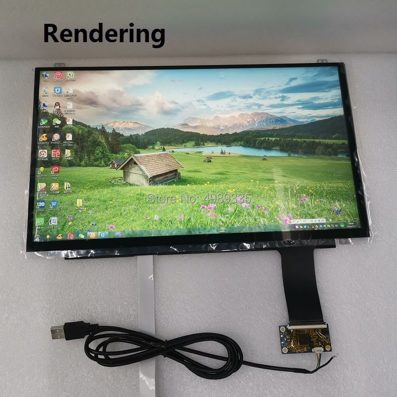15.6-inch Capacitive Touch Screen Linux WIN7 8 10 And Android System Plug And Play 2511 Solution