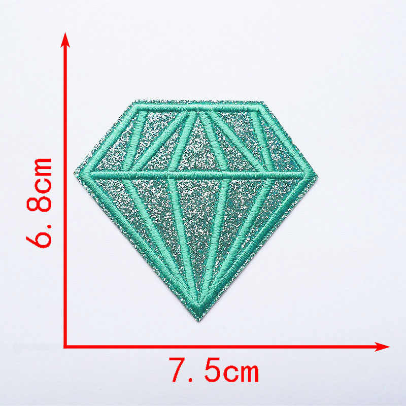 핫 멜트 접착제 아이언 수 놓은 블 링 반짝이 다이아몬드 패치 의류 봉 제 t-셔츠 스티커 배지 패션 applique