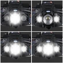 YAGE lampe frontale flashlight Head Lamp Lights linterna frontal t6 LED headlamp headlights flashlights forehead 18650 hoofdlamp