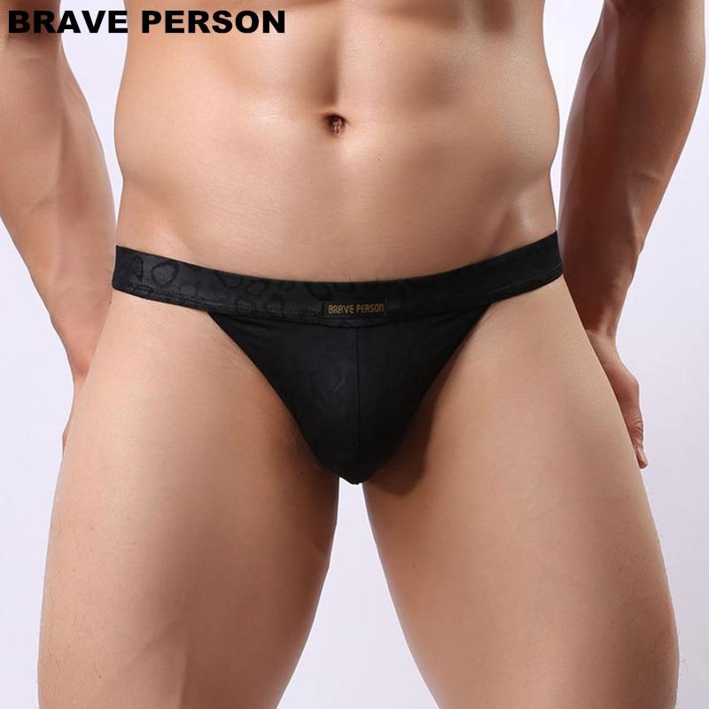 DRAAG PERSOON Mannen Sexy Lace Transparante Persoonlijke Slips Bikini - Ondergoed - Foto 2
