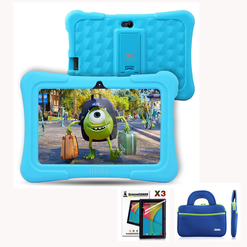 DragonTouch Y88X Plus 7 inch Kids Tablet pcs Quad Core Android 5.1+Tablet bag+Screen Protector Best Christmas gifts for children цена и фото