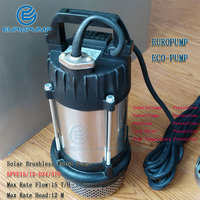 EUROPUMP MODEL(SPVE15/12 D24/370) Max Flow 15000LPH 24 volt 0.5HP Max lift 12m submersible water pump/solar powered water pumps