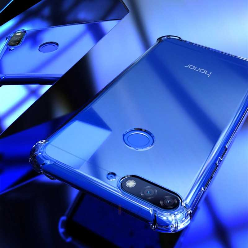 shockproof Airbag tpu Transparent phone case for huawei on honor 10 gt 7s 7x 9i 9 lite 7a 7c 5.45 5.7 5a 5c 5X 6a 6c 8 pro cover