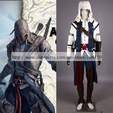 Assassin's Creed Men's Altair 8st Version Cosplay Costume High Quality EMS/DHL Free Shipping For Men Cosplay Clothing Hoodies