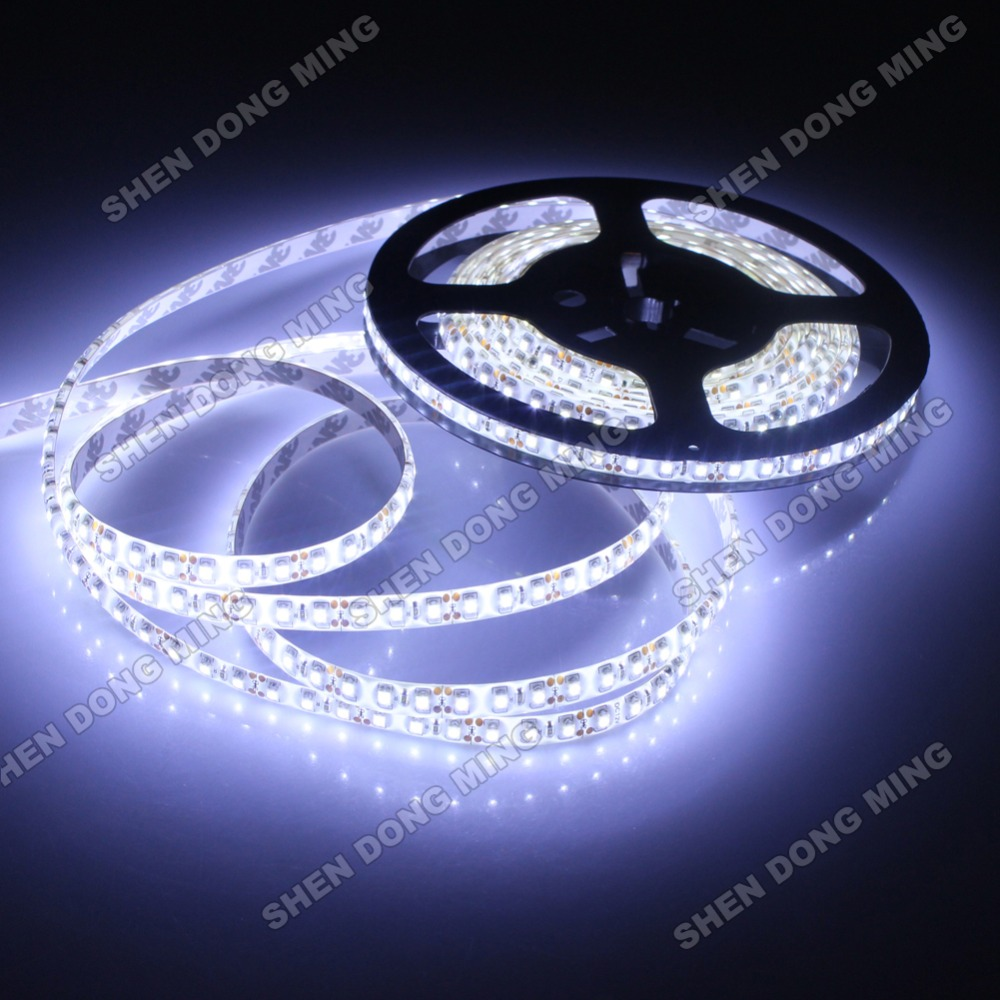 Factory directly sale LED Lights Strip 3528 120Leds/m Non-waterproof DC12V TV led strip Indoor Home Decoration with best quality