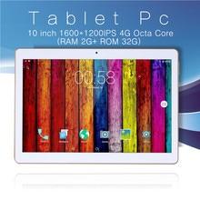 Envío gratis Diseño Original 4G Octa Core Llamada de Teléfono de 10 pulgadas Android 5.1 octa Core IPS pc de la Tableta de WiFi 2G + 32G android 10 tablet pc
