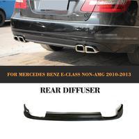 ПУ заднего бампера Диффузор для Mercedes Benz W212 E200 E250 E350 E500 E550 стандартного бампера 2010 2013 не Для AMG