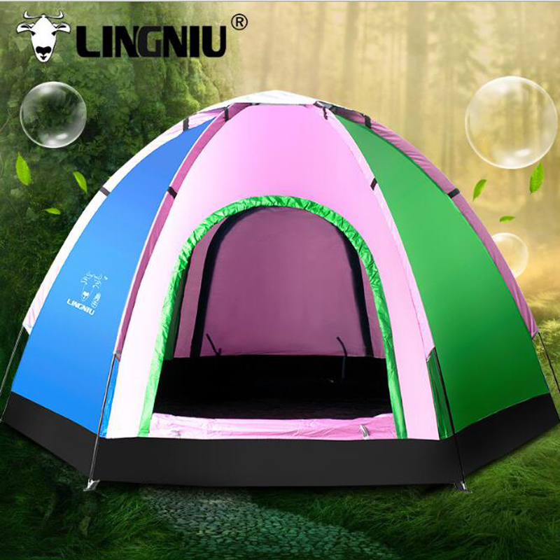 5-8Person Camping Tent Waterproof Weather Resistant Outdoor Camping Tent For Fishing Hunting Adventure family party Hiking Tents high quality 9 person large space outdoor waterproof camping tent 3 room 1 hall mosquito net family tents for party low price