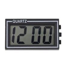 Mini Digital LCD Screen Table Auto Car Dashboard Date Time Calendar Small Clock