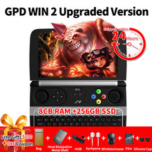 Original GPD WIN 2 Gamepad Tablet PC Intel Core m3-7Y30 Quad Core 6.0 Inch 1280*720 Windows 10 8GB/128GB SSD Gamepad Game Player(China)