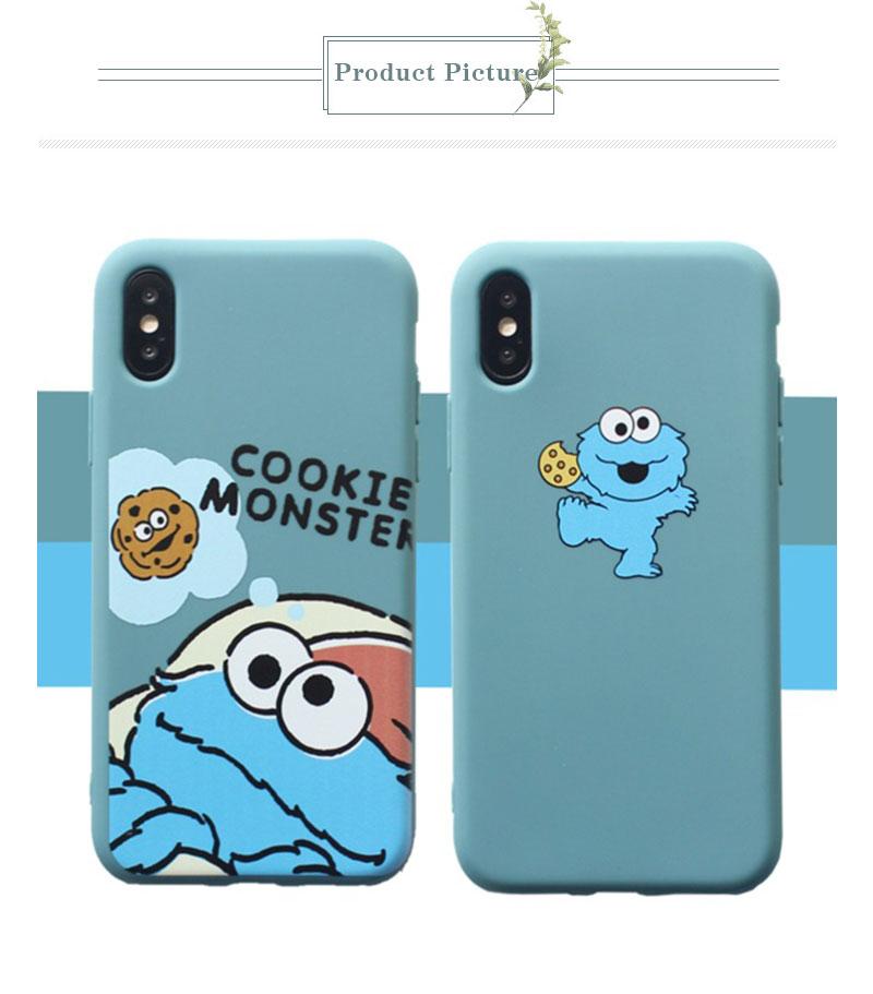 Sesame Street Case For iPhone 8 8plus 7 7 Plus Cases Silicone Phone Case For iphone 6 s 6s Plus X XR XS Max Cases Cover Coque    (9)