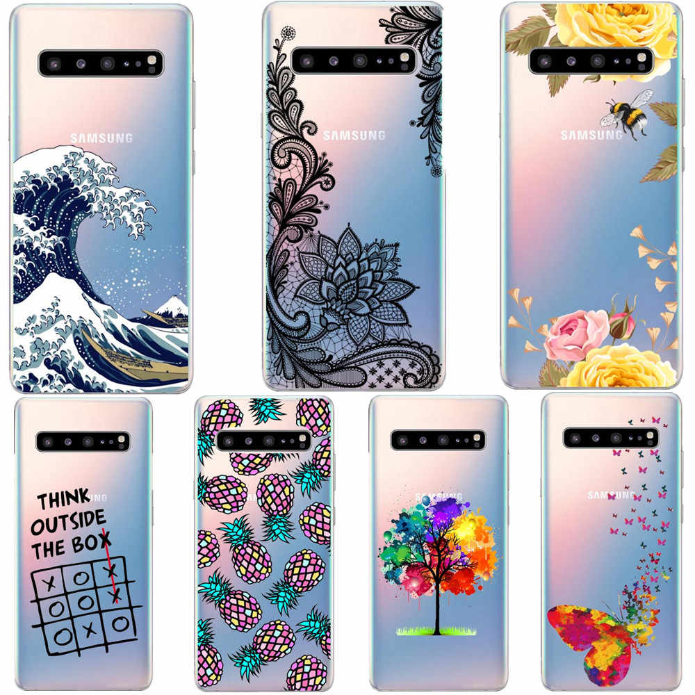 For Samsung Galaxy S10 Lite Soft tpu Case S10 Case Silicone TPU Cover Phone Case For Samsung S10 Plus G975F S 10 SM-G973F Case