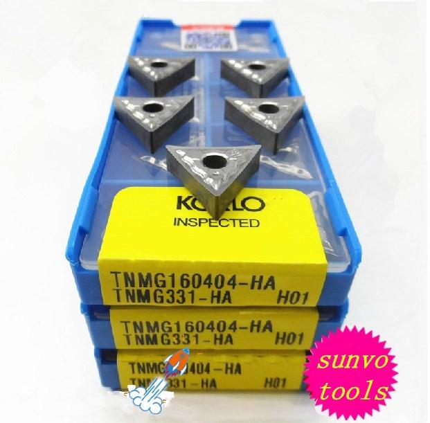 50PCS TNMG160404 TNMG160408 TNMG160402 TNMG160412 -AK H01 Carbide Aluminum Insert KORLOY Cemented Carbide Turning Inserts WTJNR
