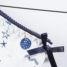 5Pcs/Set Women Teenage Girls Mid Waist Cotton Underwear Cute Cartoon Fruit Navy Style Pattern Printed Briefs Candy Color Panties