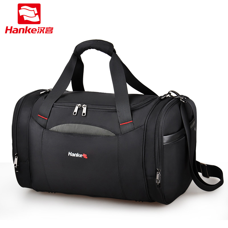 Hanke Travel Gym Men Bag Duffle Messenger Shoulder Bags Women Travel Totes TNylon Handle Weekend Trip