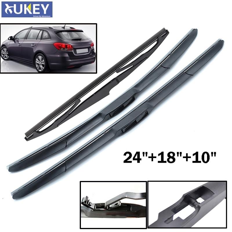 Xukey Front Rear Wiper Set Kit For Chevrolet Cruze Wagon