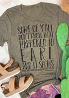 Carta impresión verano mujer camiseta de moda de Color café camiseta mujer Top para las mujeres camisetas verano mujer 2019