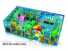 Exported to Canada Door to Door Service Children Soft Indoor Playground Eco-friendly Raw Material(China)