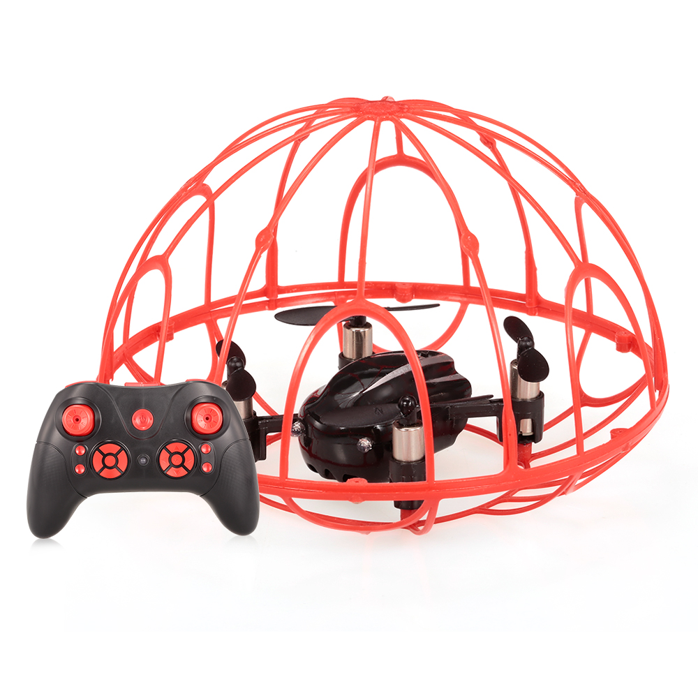 Goolrc Hot Sale Z2 2.4G 4CH 6-Axis Gyro Full Protective RC Quadcopter One-key Return RC Drone airplane Remote Control Toy