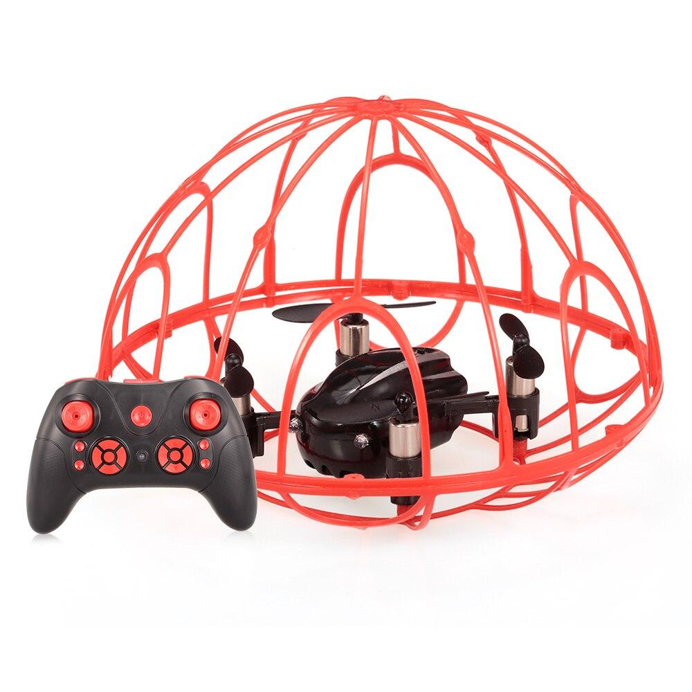 Goolrc Vendita Calda Z2 2.4G 4CH-Axis Gyro Protettivo Completo RC Quadcopter One-key Ritorno RC Drone aereo Giocattolo di Telecomando