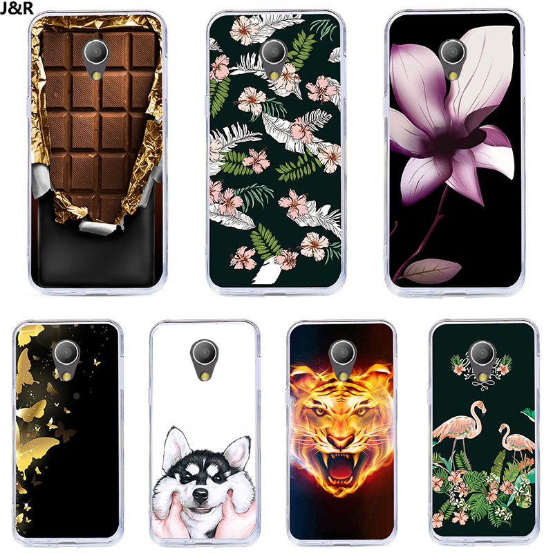 J&R Case For Alcatel 1C Painted Silicone Soft TPU Cartoon Silicone Back Cover Cases For Alcatel 1C 5009A 5009D Mobile Phone Bags