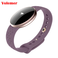 Volemer Womens Smart Watch for iPhone Android Phone with Fitness Sleep Monitoring Waterproof Remote Camera GPS Auto Wake Screen