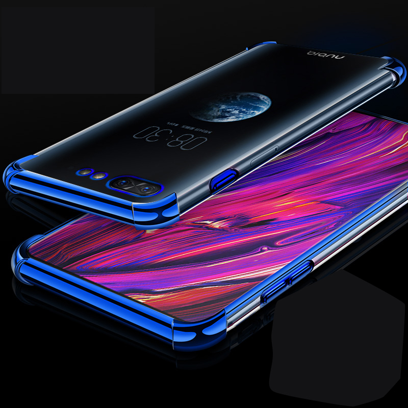 for ZTE Nubia X Case 6.26 3D Laser Elec-plating Airbag Case for nubia X Case Anti-shock Transparent for ZTE nubiaX Cover Fundafor ZTE Nubia X Case 6.26 3D Laser Elec-plating Airbag Case for nubia X Case Anti-shock Transparent for ZTE nubiaX Cover Funda