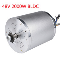 New 48V 2000W Brushless Motor For Electric Bicycle Motorcycle Accessories BLDC Electric Bike Scooter Motors 5400RPM Wholesale