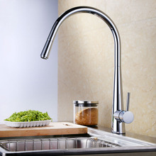 Drawing copper kitchen faucet pull type vegetables basin bowl rotating retractable sink hot and cold copper hot and cold pull out type kitchen faucet rotating retractable belt shower vegetables basin sink brushed