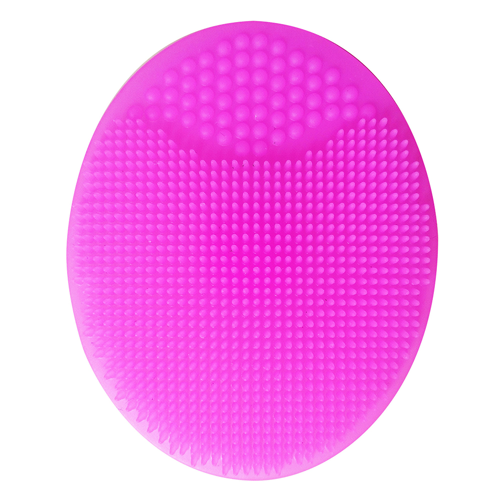 Bath Wash Brush Facial Cleansing Pad Hair Face Exfoliator Cleaning