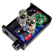 цены Headphone Amplifier HiFi 6J9 Vacuum Tube Preamp Tone Control Stereo Preamplifier PCM2706 USB DAC Decoder