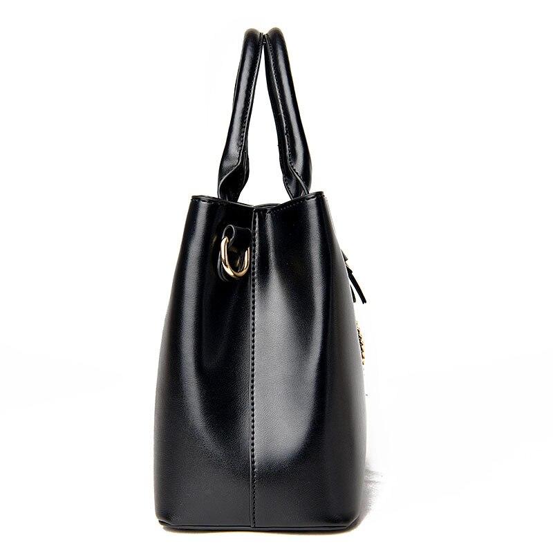 lona preta para mulheres bolsa Exterior : Nenhum