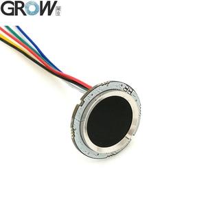 Image 3 - CRESCERE R502 DC3.3V Piccolo Circolare di Colore Rosso Blu LED MX1.0 6pin Capacitivo di Impronte Digitali di Controllo di Accesso Modulo Sensore di Scanner