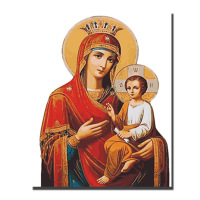 Large Virgin Mary Jesus HD Canvas Prints Christianism Art Pictures Religion Wall Decorative Print Posters For