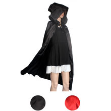 4ac6c107f16 VOT7 2018 Hooded Cloak Coat Wicca Robe Medieval Cape Shawl Halloween Party  S M L XL FOR Sexy Women Cover Up Black Shawl Women Y2