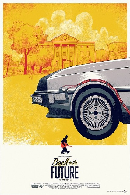 Diy Frame Back To The Future 1 2 3 Sci Fi Movie Poster Fabric Silk