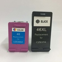 For HP 46 Ink Cartridge For HP 46xl DeskJet 2020hc 2025hc 2520hc 2029 2529 4729 Printer