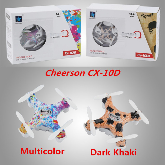Cheerson CX10D CX-10D  Mini 2.4G 6-axis with High Hold Mode LED CX-10 CX-10W Upgrade