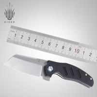 Kizer folding pocket knife mini sheepdog small edc survival knife outdoor bushcraft tactical knife hunting tool