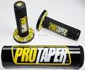 Protaper 7/8 '' 22 mm apretones de mano y Cross Bar Pad Dirt Pit Bike ATV Motocross