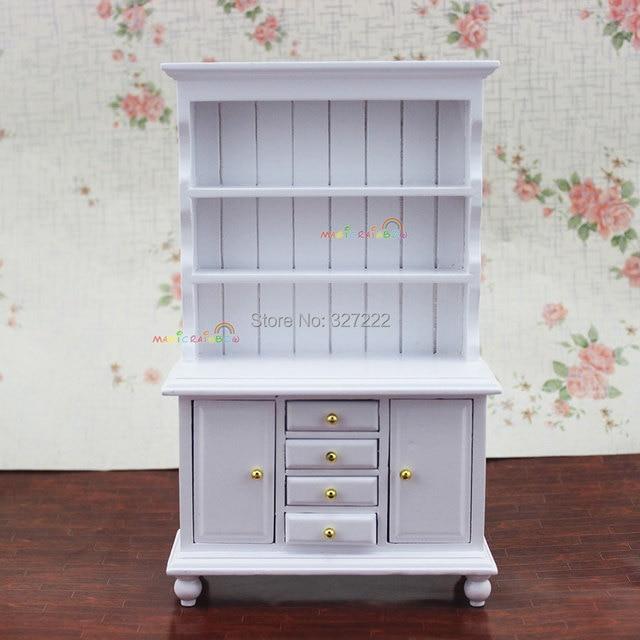 1 12 Básculas Dollhouse miniatura Muebles mostrar gabinete cocina ...