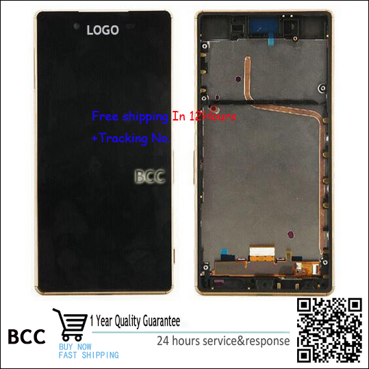 Original For sony Xperia Z4 Z3+ Dual  LCD Digitizer Display+Touch Screen Panel Touchscreen with frame free shipping Test ok original lcd screen display touch panel digitizer with frame for htc desire 300 free shipping test ok best quality