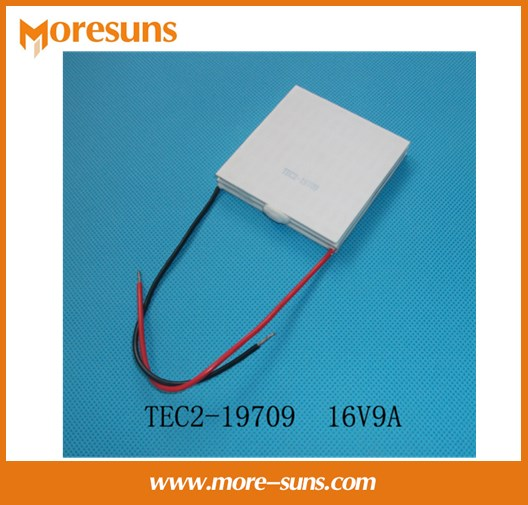 Fast Free shipping TEC2-19709 16V9A 62*62mm Semiconductor Thermoelectric Cooler Peltier
