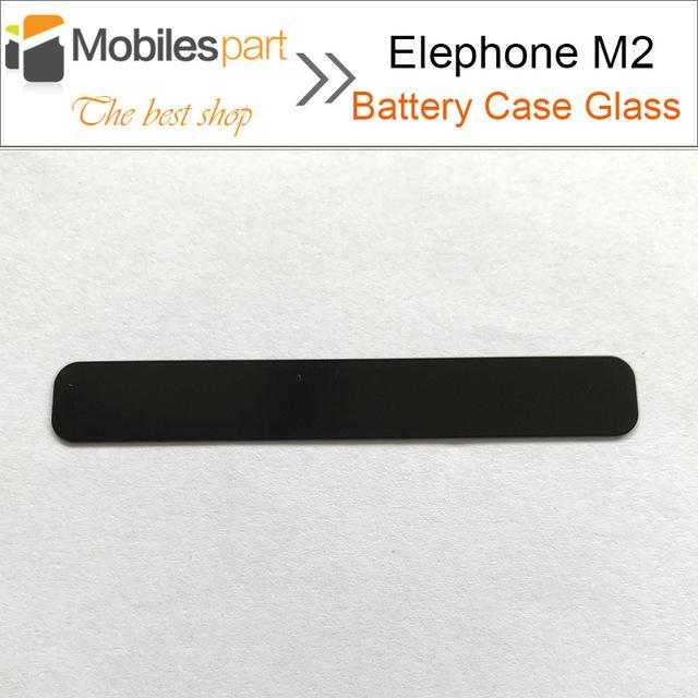 Caso Elephone M2 De Vidrio para Batería 100% Reemplazo Original Cubierta de batería de Cristal para Elephone M2 Smartphone