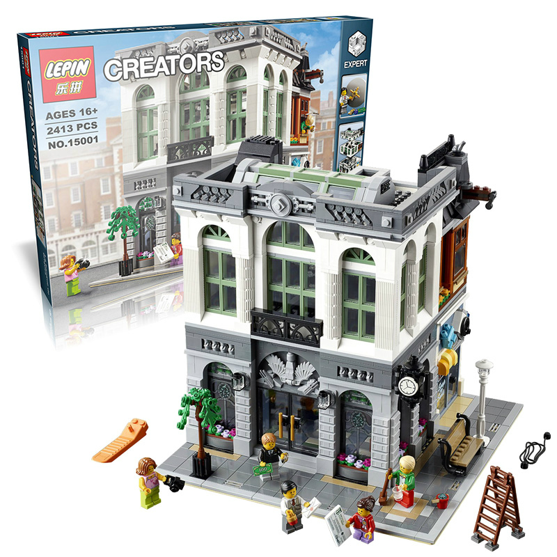 ФОТО Brick Bank 2413pcs Building Bricks Block Set Lepin Creator Lepin 10251