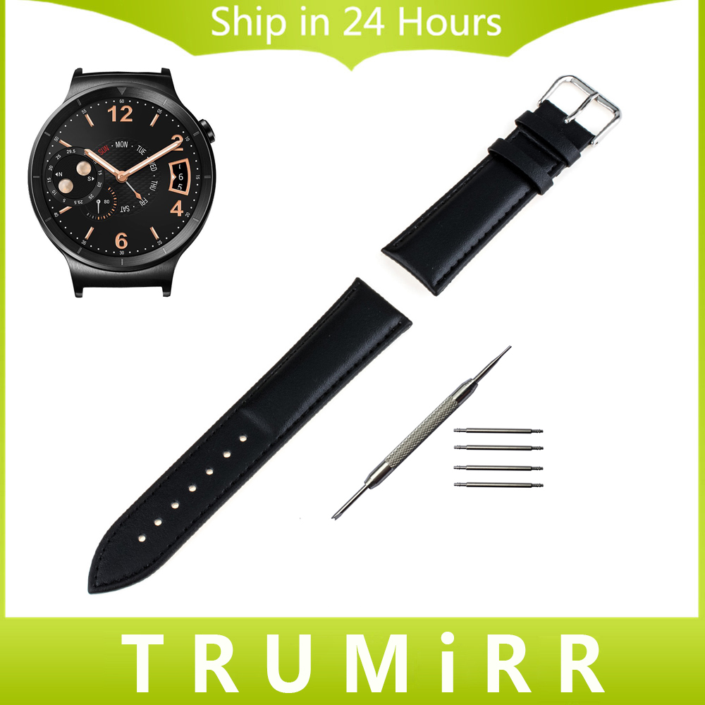 18mm Genuine Leather Watchband + Tool for Huawei Watch 2015 Asus ZenWatch 2 Women's WI502Q Wrist Band Strap Bracelet Black Brown asus zenwatch 2 wi501q smartwatch