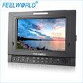 FW-1D/S/O 7 Inch IPS Field Monitor with Tally Peaking Focus Color Histogram 3G-SDI Feelworld  DSLR Camera External LCD Monitors