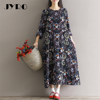 JYRO Brand Mori Women S New Dresses Fat MM Show Thin Long Loose Large Size Mid