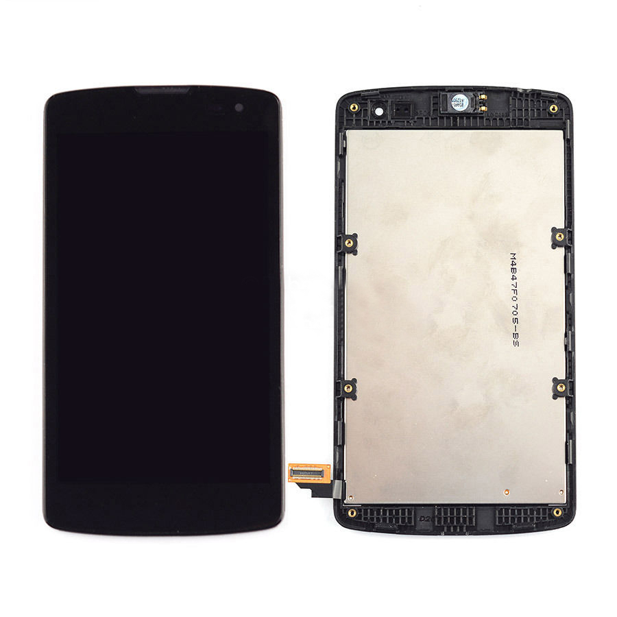 +Frame Black LCD Display + Touch Screen Digitizer Assembly Replacement For LG Optimus F60 D392 D390N D390 Free Shipping