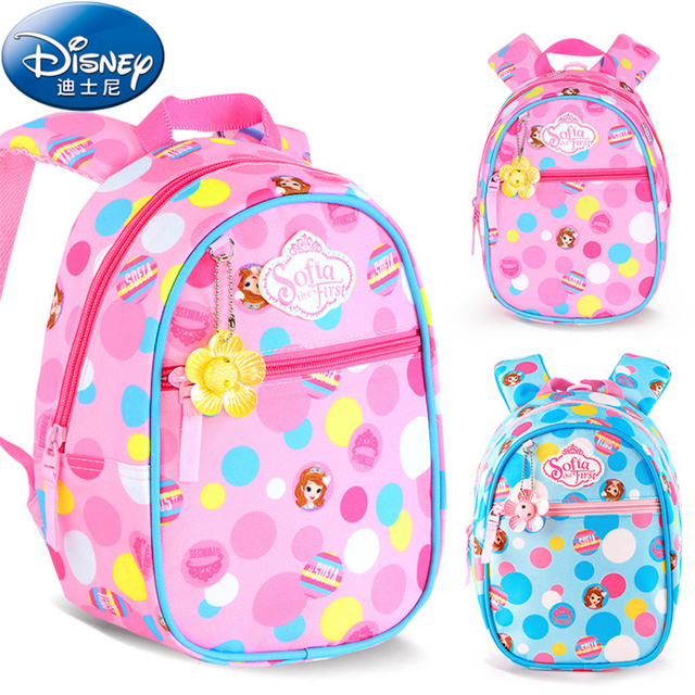 5c01246c79 Disney 2018 Sophia PrincessChildren Backpacks kindergarten Schoolbag Kids  Backpack Children School Bags Girls Backpacks A10
